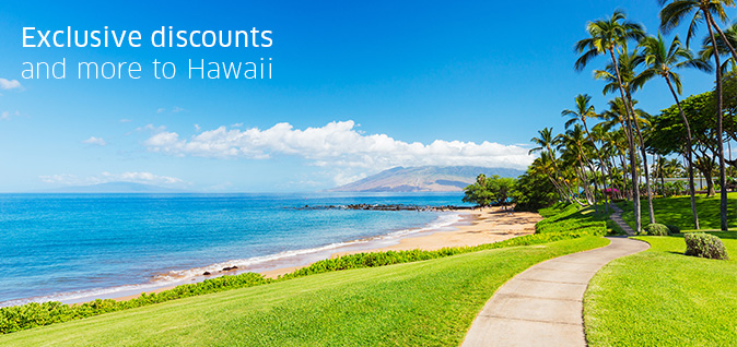 Exclusive discounts to Hawaii from EnjoyVacationing.com