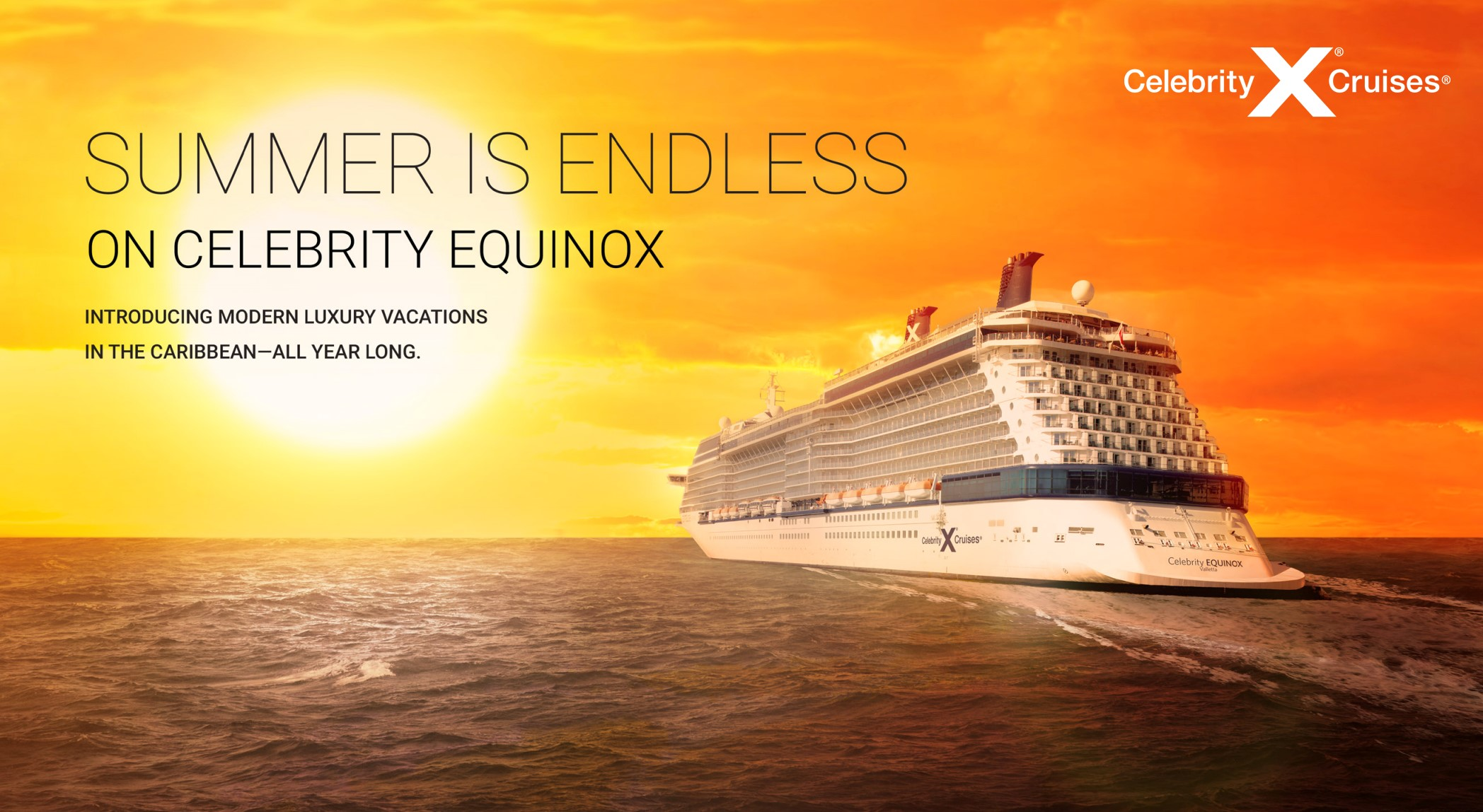 Celebrity - Summer is Endless Sale & Year Round Caribbean Luxury Vacations