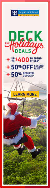Deck the Holidays Deals - from Royal Caribbean & EnjoyVacationing.com