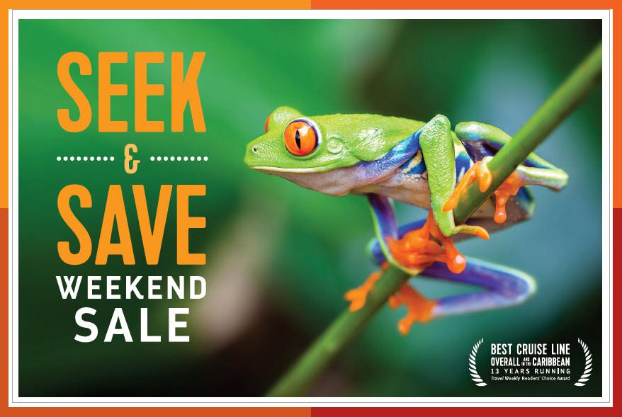 Seek & Save Royal Caribbean Cruise - Weekend Sale from Enjoy Vacationing Travel Agency