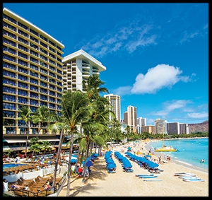 Outrigger Waikiki Beach Resort - 5th night free from EnjoyVacationing.com