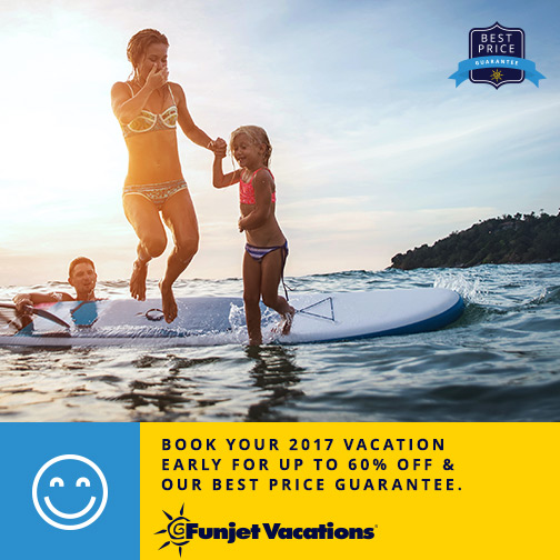 Start planning for 2017 now. Vacation are on sale!
