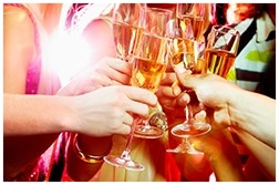 Toast in the New Years onboard a European River Cruise. Contact info@enjoyvacationing.com to learn more!