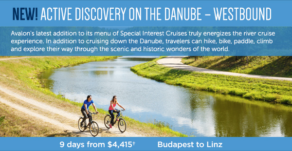 Learn more about active discovery river cruises on Avalon through EnjoyVacationing.com