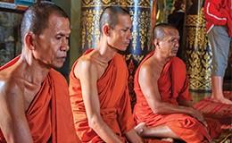 Buddhist Blessing - via River Cruise!