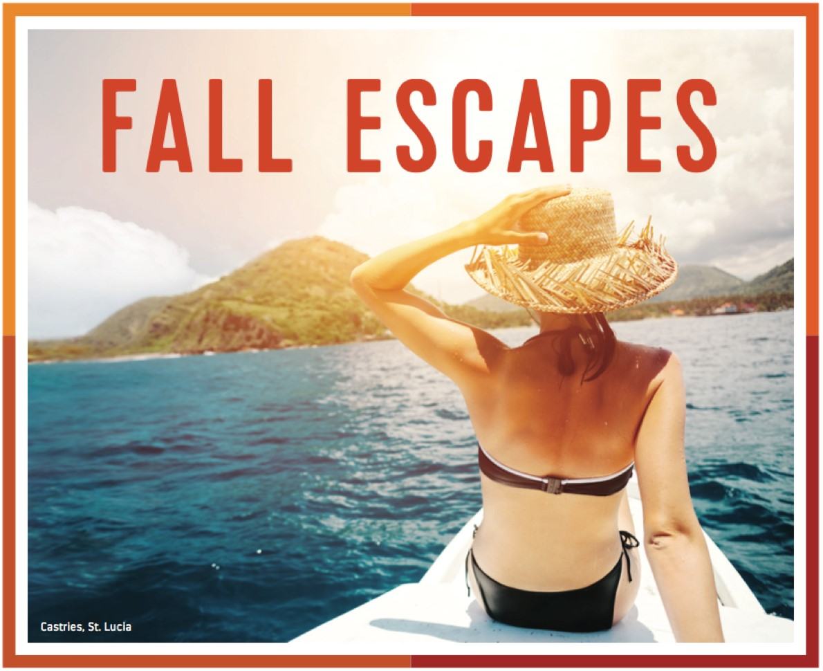Fall Escapes Cruise Sale from Enjoy Vacationing travel agency!