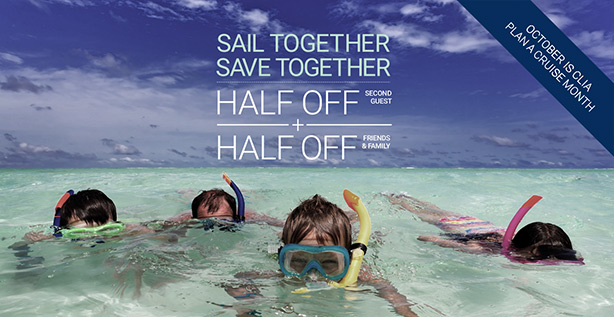 Together you save! Celebrity cruise lines & Enjoy Vacationing Travel Agency