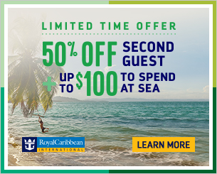 Royal Caribbean BOGO 50% off plus onboard spending money and more from info@enjoyvacationing.com