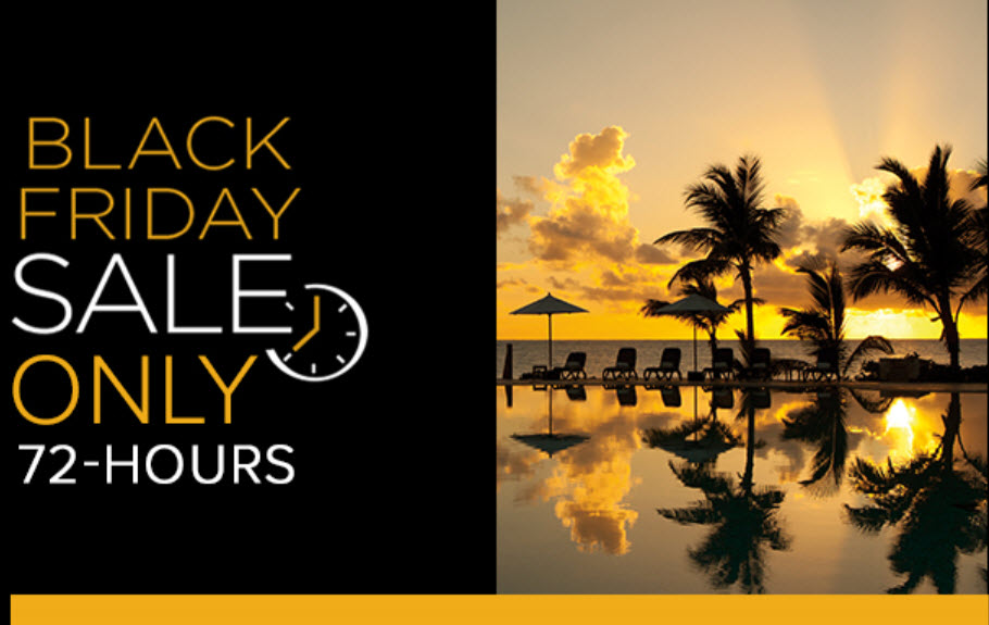 AM Resorts (Secrets, Dreams, Sunscape, Breathless & more) on sale now for Black Friday from EnjoyVacationing.com
