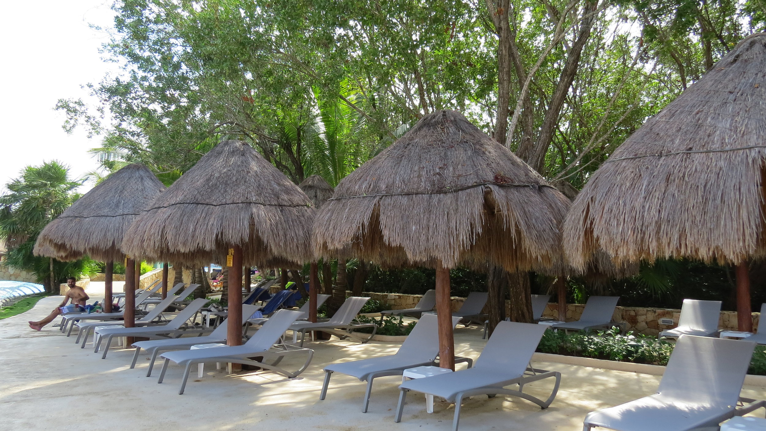 Recent picture from Iberostar Pariso complex in Cancun, Mexico