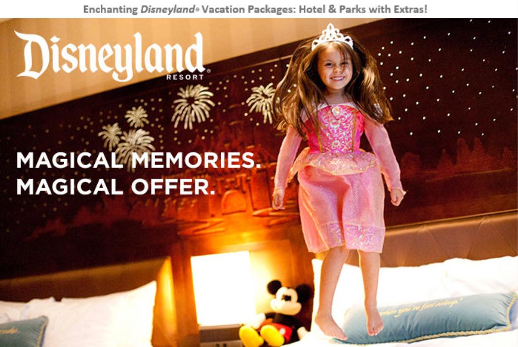 Save up to 25% at Disneyland this winter/spring