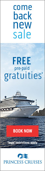Come Back New with great cruise deals from Princess & Enjoy Vacationing