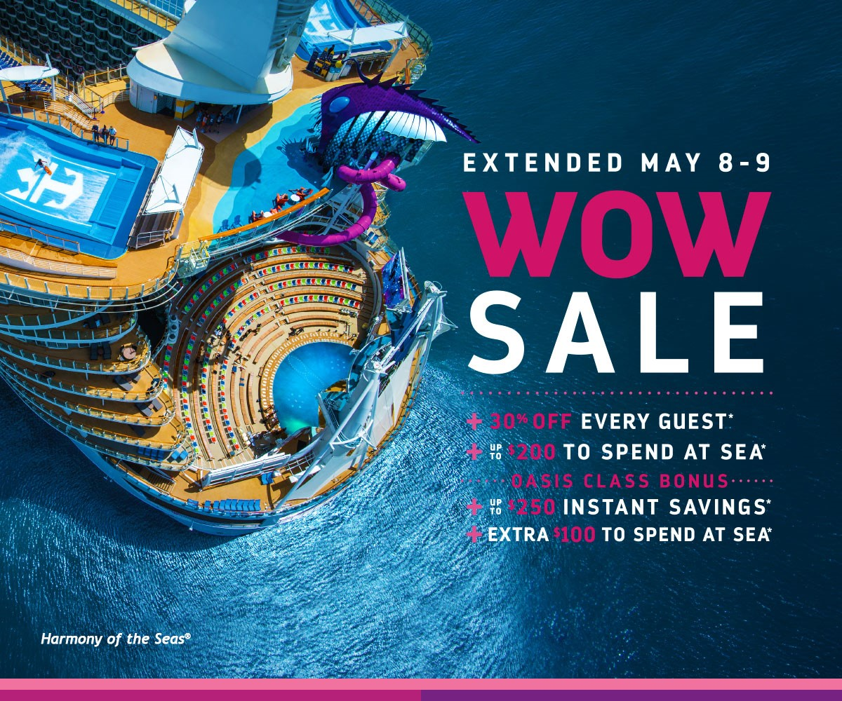 WOW Sale on now - contact info@enjoyvacationing.com for more!