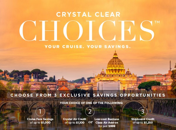 Luxury cruise deals! EnjoyVacationing.com for more details
