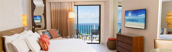 Newly remodeled rooms at Atlantis - ask info@enjoyvacationing.com for more info!
