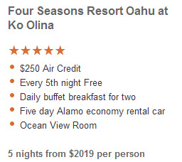 Featured Luxury Deal in Oahu