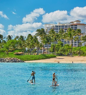 Beautiful Four Seasons Resort on Ohau at Ko Olina. Learn more info@enjoyvacationing.com