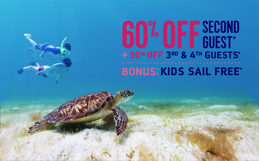 60% off second Guest Plus!