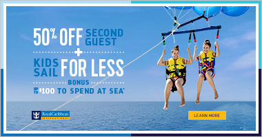 Save now on Royal Caribbean cruises!
