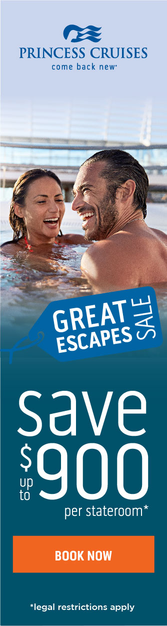 Great Escapes Sale on Now!