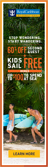 BOGO 50% off plus kids sail free on Royal Caribbean with Enjoy Vacationing