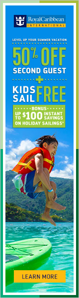 Royal Caribbean sale through Travel Agency Enjoy Vacationing