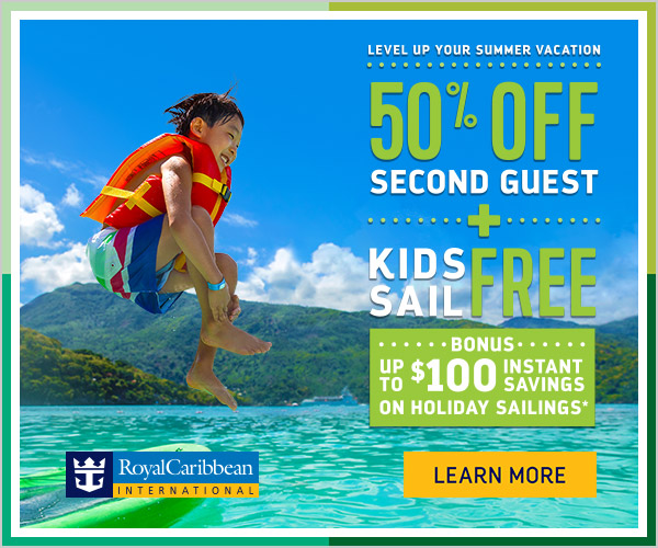 Level Up Your Summer Vacation Cruise Sale