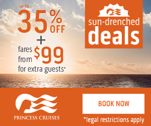 Sun Drenched Cruise Deals