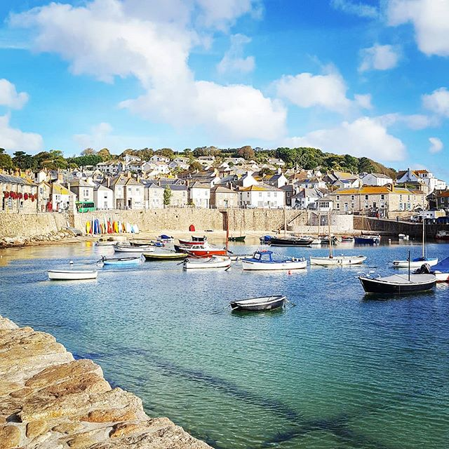 Autumn Mousehole ⚓⛵☀️