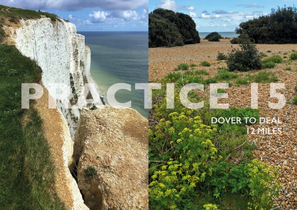 A wonderful cliff top walk in bright sunshine and showers along the white cliffs of Dover;complete with medieval castles, light-houses and views of the French coast on the horizon.