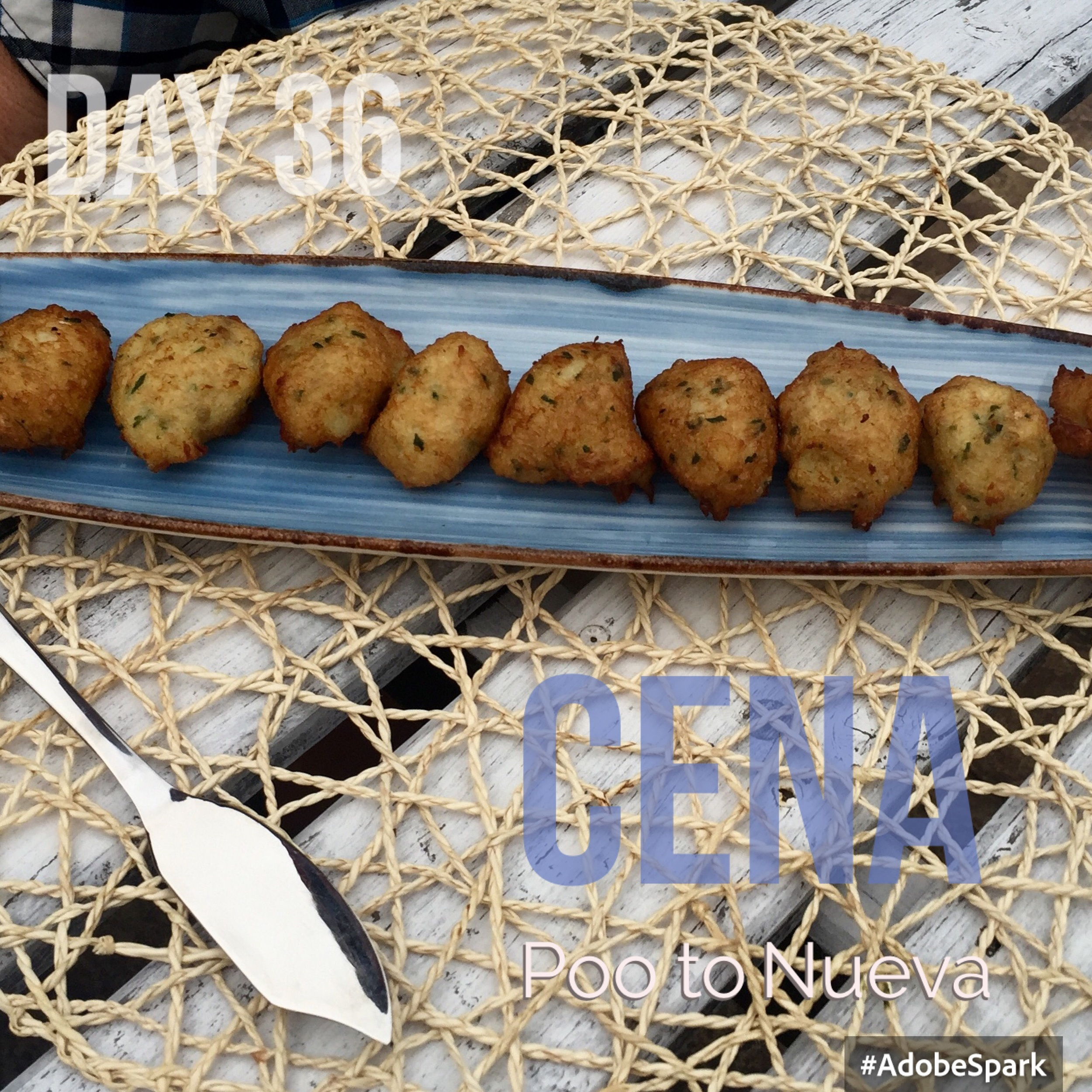 Cod and cheese croquettes