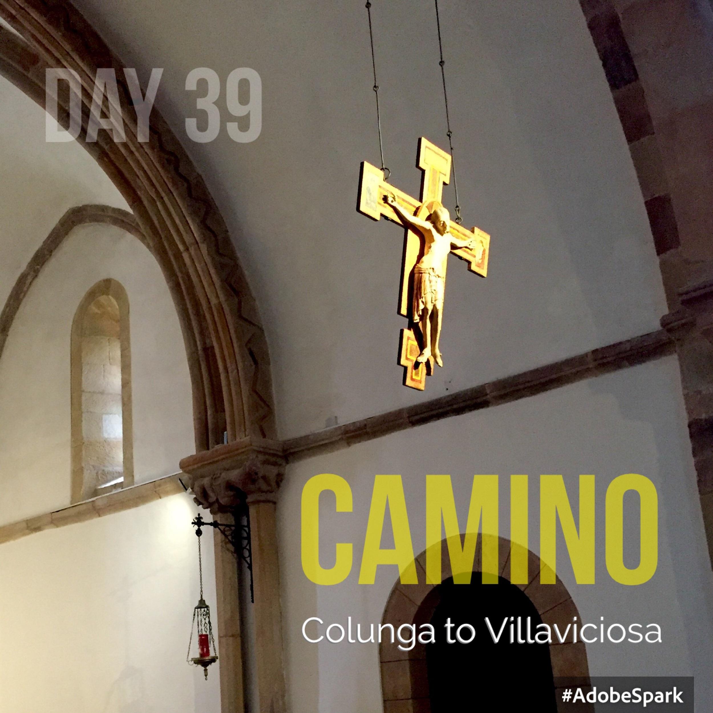 The C12th church at Villaviciosa