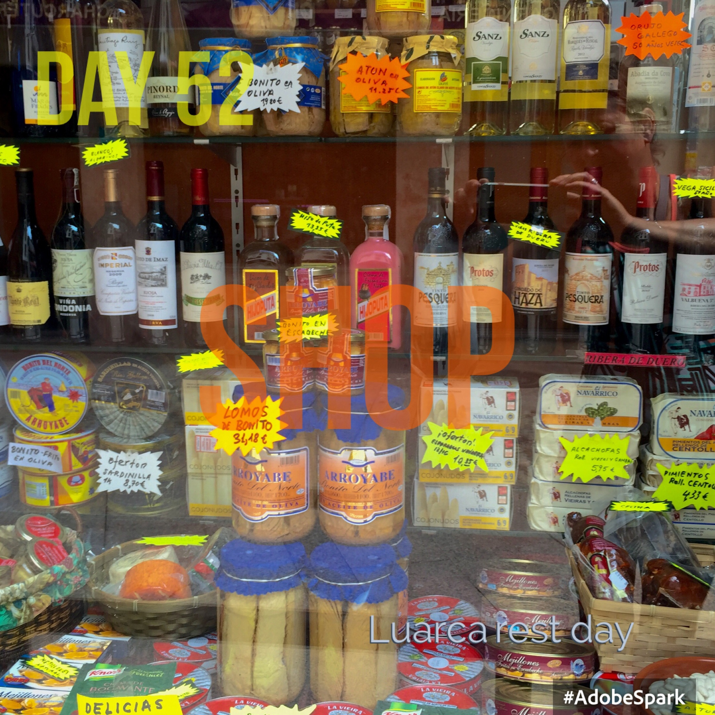 Spain still retains its myriad of little shops