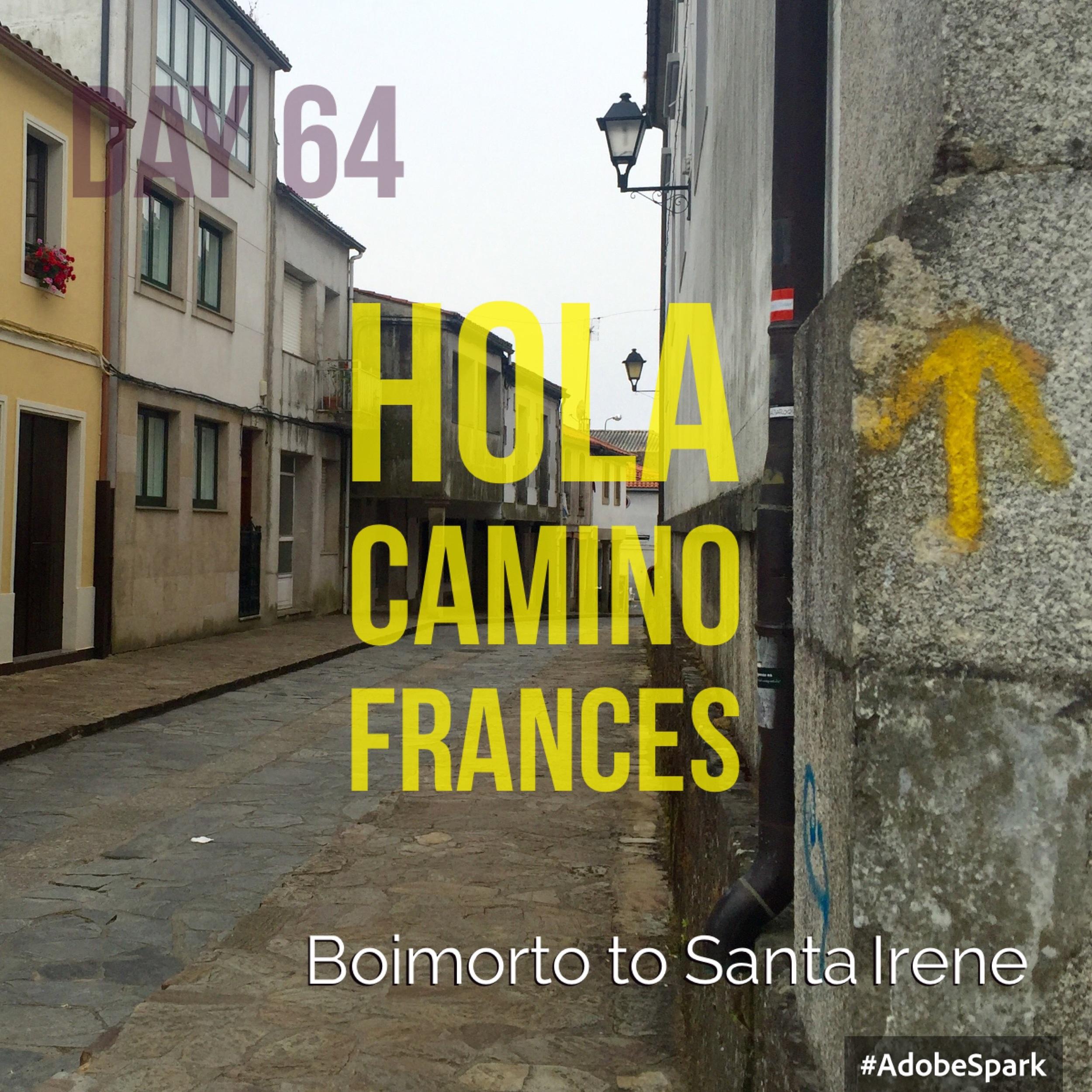 On to Santiago de Compostela