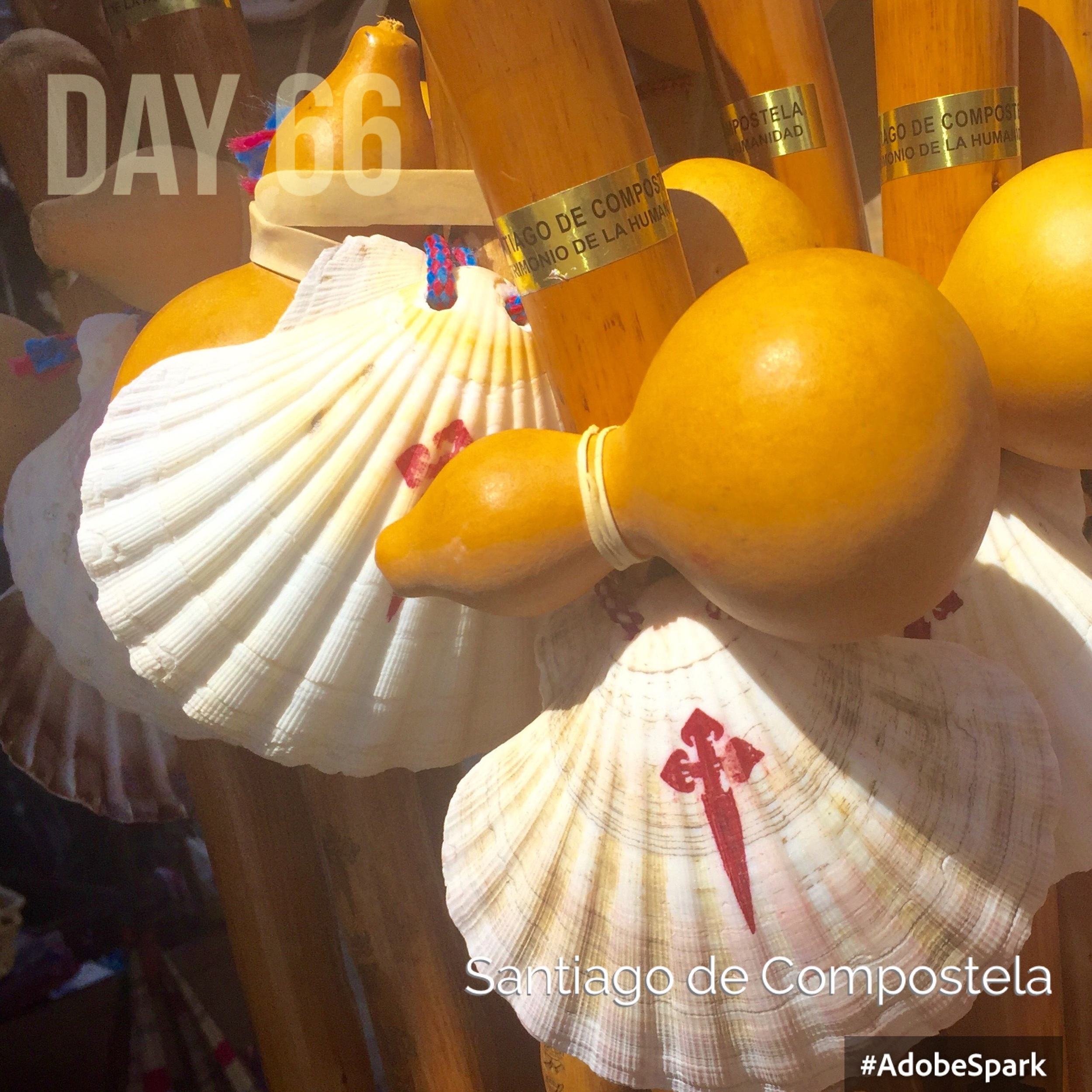Shells, staffs and gourds...