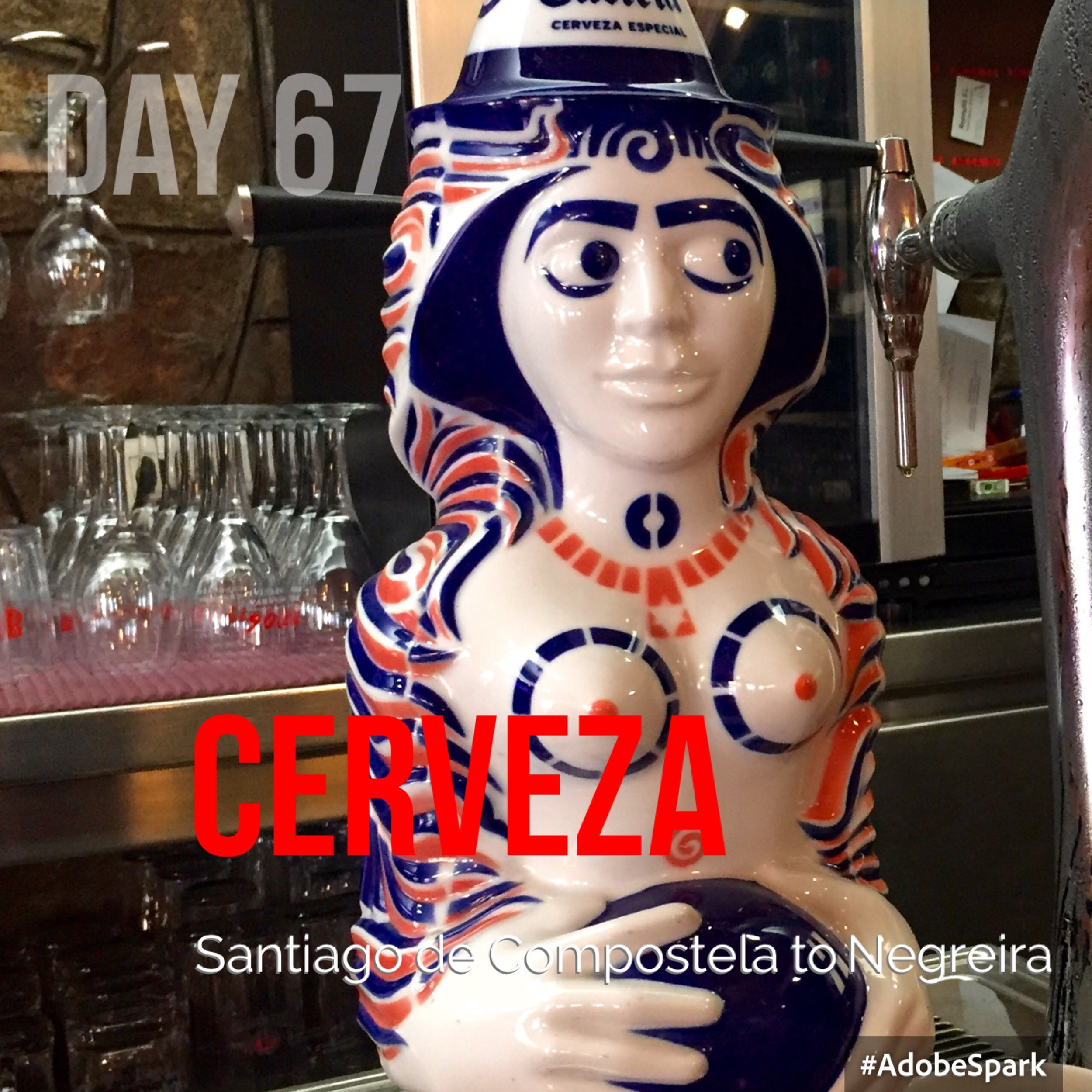 She hangs out in all the Galician bars.