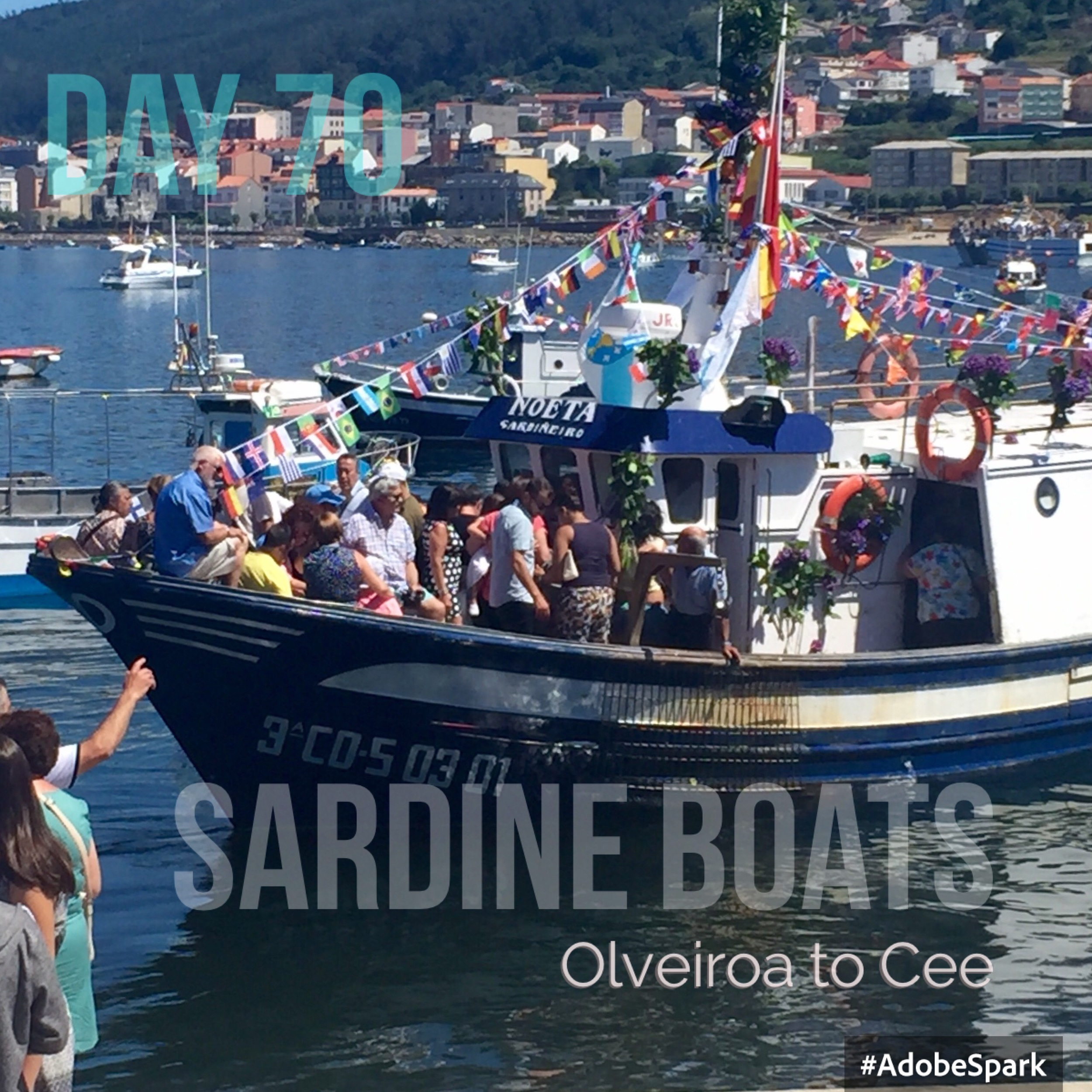 Fiesta to bless the sardine boats