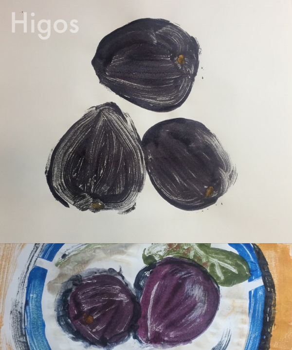Figs from my garden; best with yoghurt and local honey.