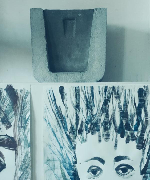 El Compuerto on the studio shelf