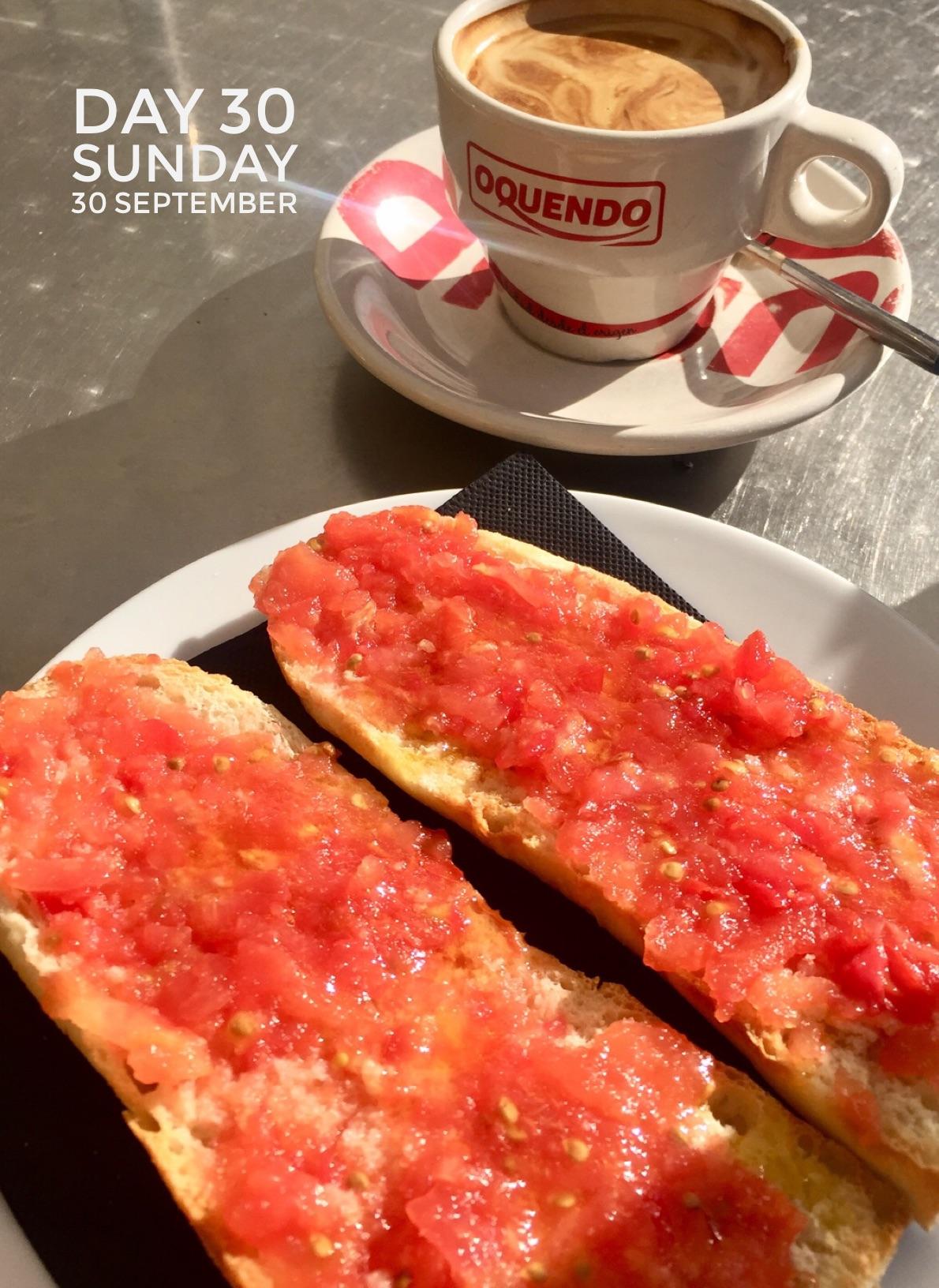 Breakfast in the Plaza Mayor