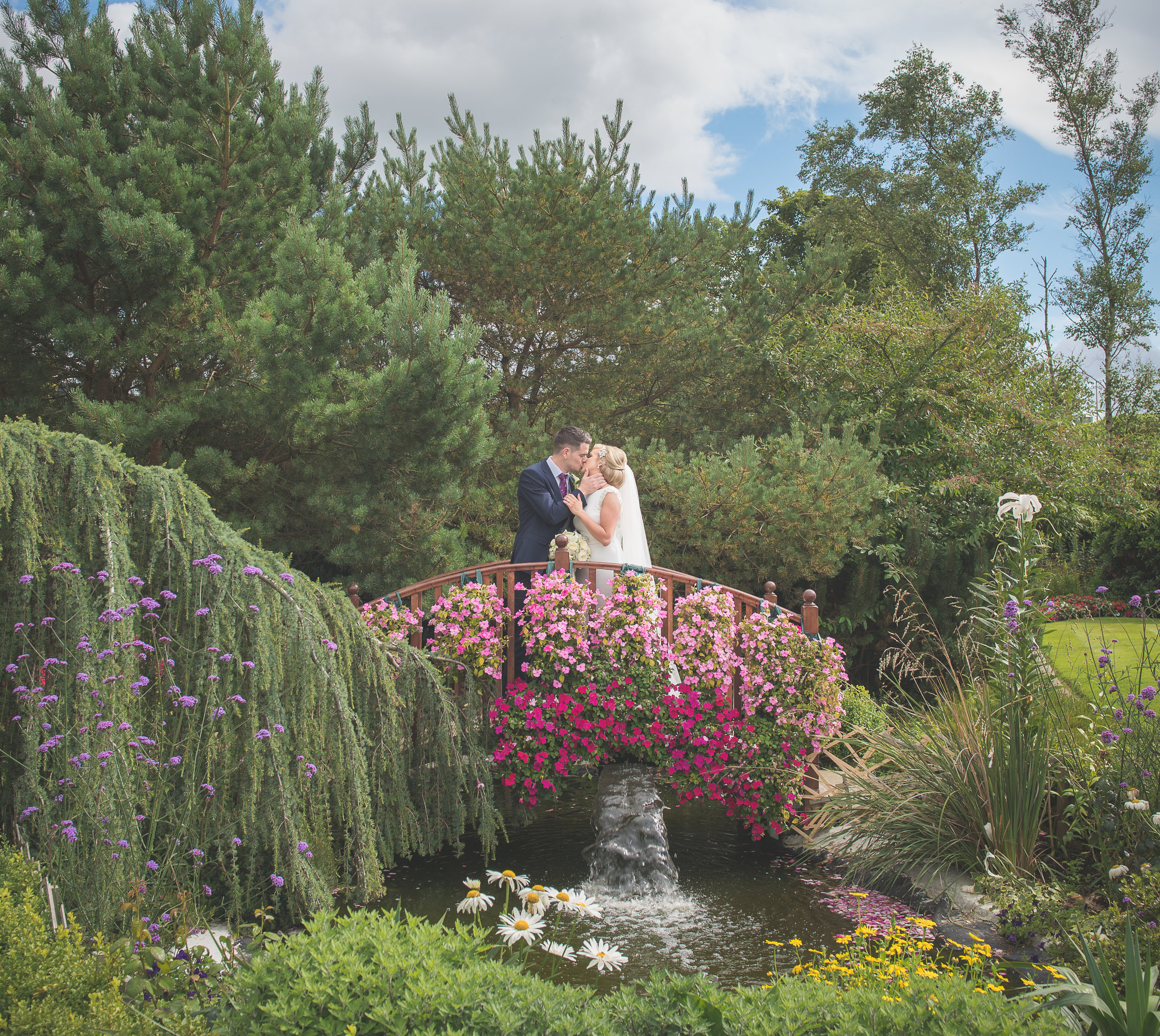 Natural, creative and timeless wedding portraiture captured by award winning photographer -