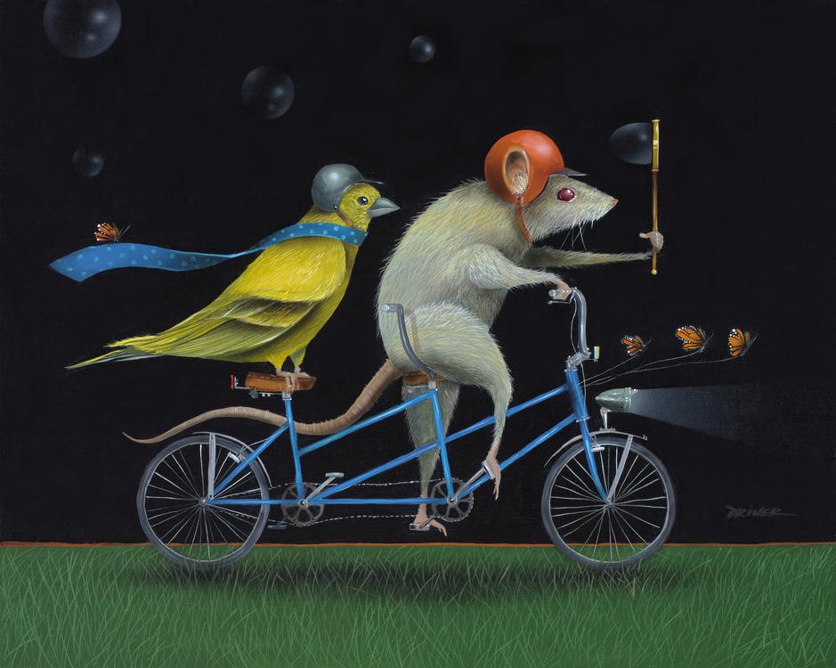 Midnight Riders 16x20