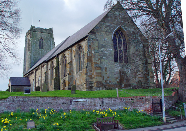 All Saints Church, copyright Peter Church