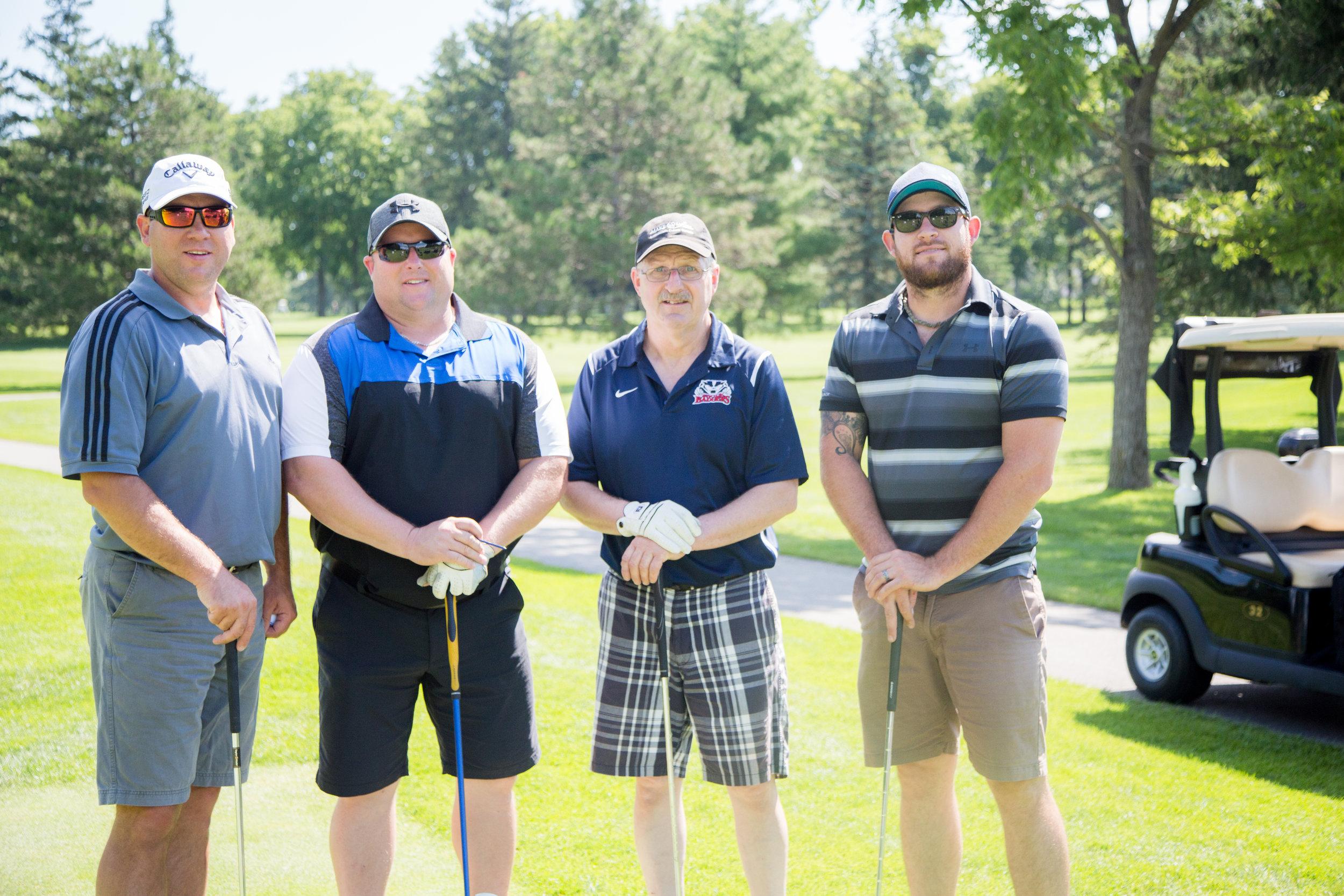 Make A Wish Golf Classic 2018 - Team Brodie -