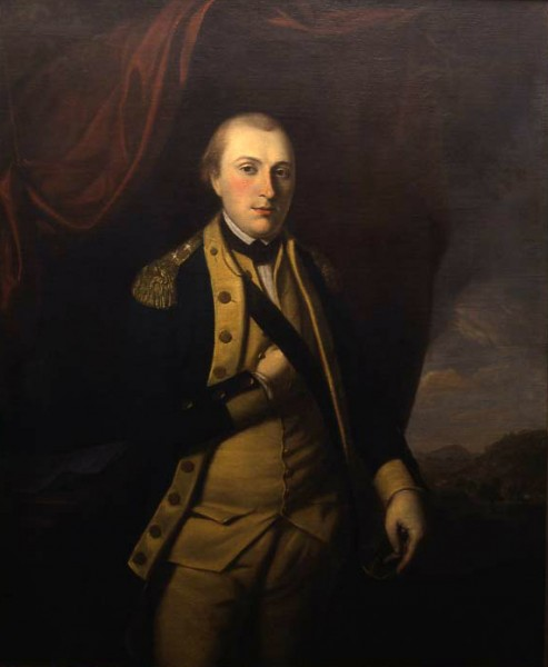 Portrait of Marquis de Lafayette, Charles Willson Peale, 1779 (Washington-Custis-Lee Collection, Washington and Lee University, Lexington, VA)