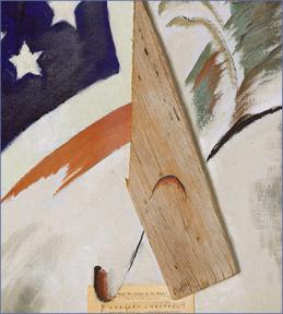 May, 7, 2017  Painting: Arthur Dove,  Portrait of Ralph Dusenberry  (detail), 1924: Metropolitan Museum of Art, NYC