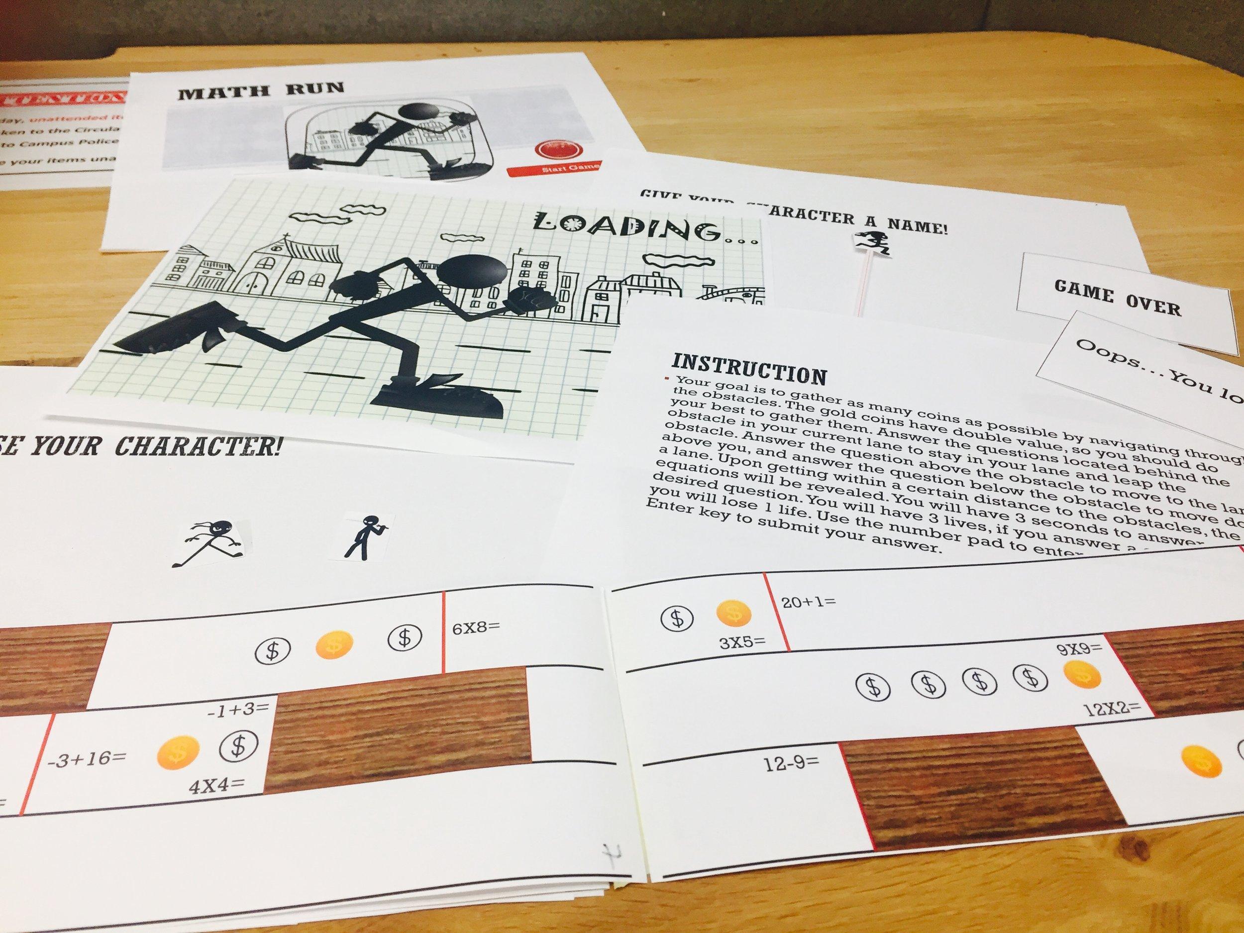 Paper prototype version 2.0