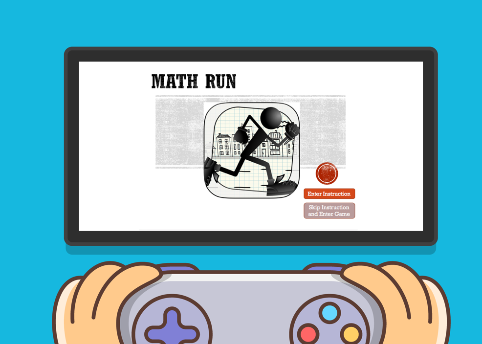 Math run - An educational game that improves mental math performance#Game Design #Game Research #Learning