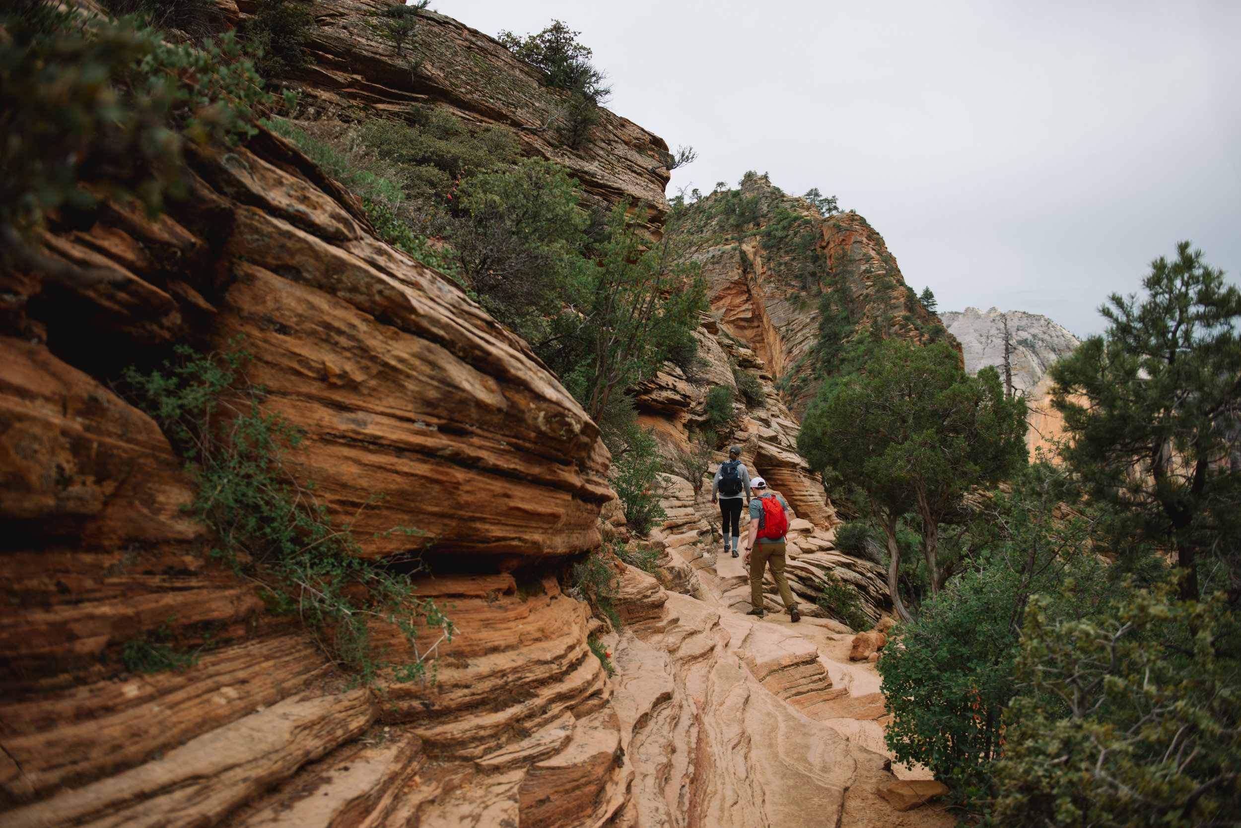 Secret Proposal- Angels Landing -Zion National Park