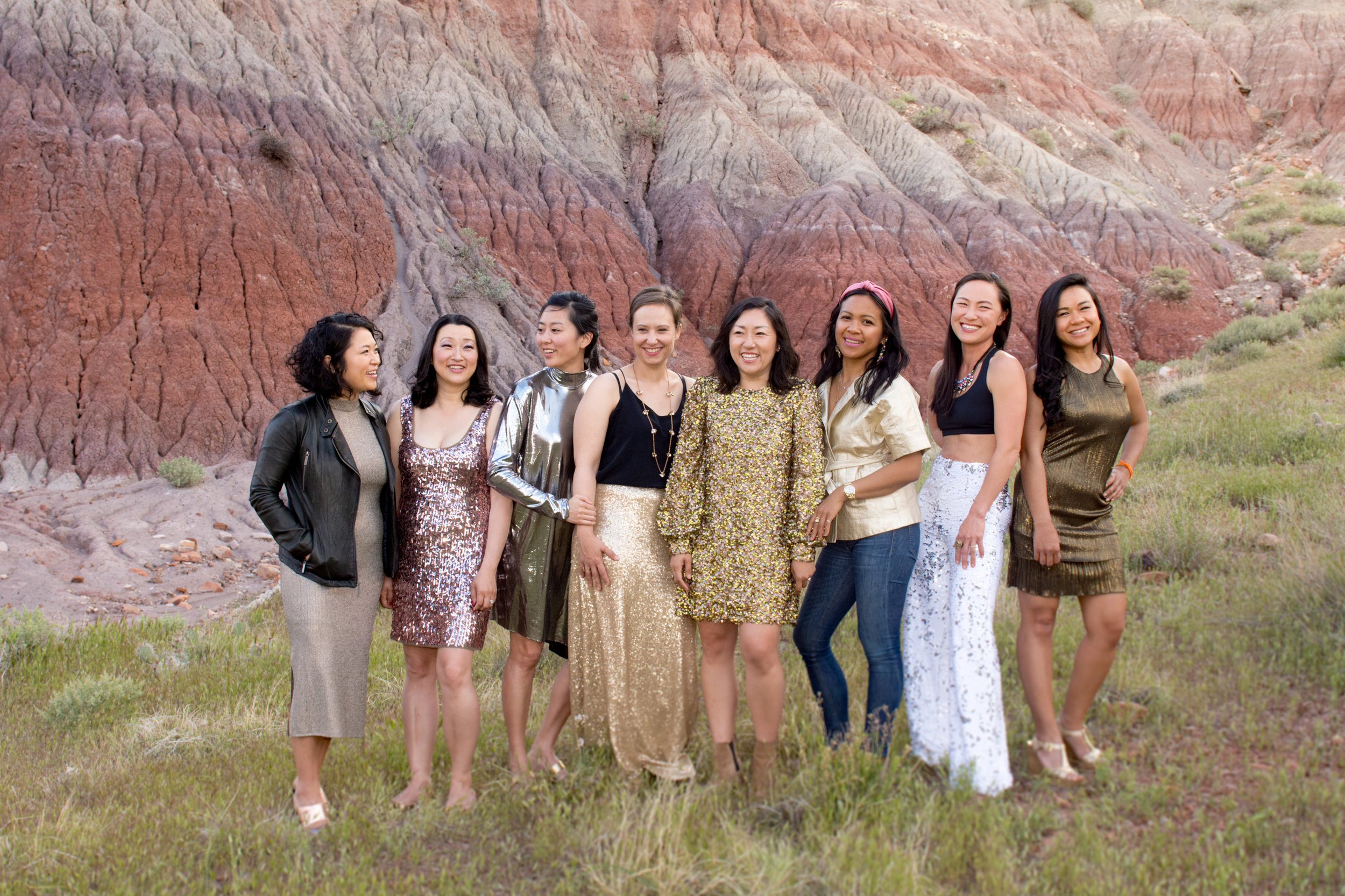 Bridal Party in Zion